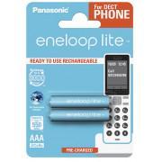Аккумуляторы Panasonic Eneloop Lite AAA 550мАч BK-4LCCE-2DE 2шт