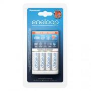 Зарядное устройство Panasonic Eneloop Smart Quick Charger + 4 аккумулятора AA 1900 мАч