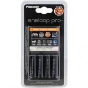 Зарядное устройство Panasonic Eneloop Pro Smart Quick Charger + 4 аккумулятора AA 2500мАч