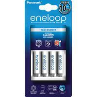 Зарядное устройство Panasonic Eneloop Basic Charger + 4шт Eneloop AAA 750мАч