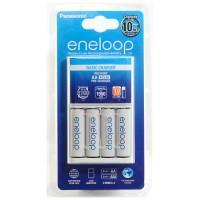 Зарядное устройство Panasonic Eneloop Basic Charger + 4шт Eneloop AA 1900мАч