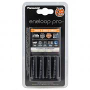 Зарядное устройство Panasonic Eneloop Smart & Quick Charger K-KJ55HCD40E + 4шт Eneloop Pro AA BK-3HCDE-4BE 2500мАч