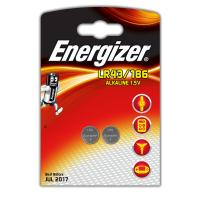Батарейка Energizer Алкалайновая LR43 / 186 2шт