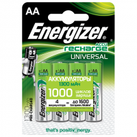 Ni-Mh аккумуляторы Energizer Universal AA 1300мАч 4шт