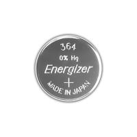 Серебряно-цинковая батарейка для часов Energizer 364 / 363 MD 10шт