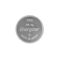 Серебряно-цинковая батарейка для часов Energizer 386 / 301 MD 1шт