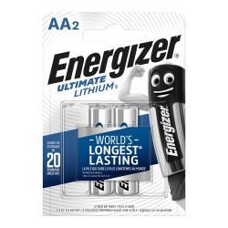 Батарейки литиевые Energizer Ultimate Lithium AA FR6 1.5В new 2шт