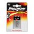 Щелочная батарейка Energizer Max Крона 9V 1шт