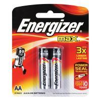 Щелочные батарейки Energizer Max AA 2шт