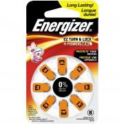 Батарейка для слуховых аппаратов Energizer Power Seal 13 PR48 дисковая 1,45В 8шт