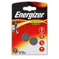 Литиевые батарейки Energizer CR2016 3В 2шт