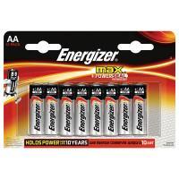 Щелочные батарейки Energizer Max AA 12шт