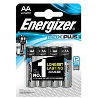 Батарейки алкалиновые Energizer Max Plus AA LR6 1,5В 4шт