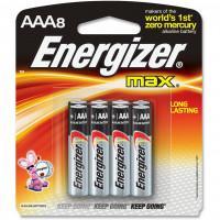 Щелочные батарейки Energizer Max AAA 8шт