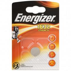 Батарейка литиевая Energizer CR1632 дисковая 3В 1шт