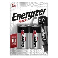 Батарейки алкалиновые Energizer Max C LR14 1,5В 2шт