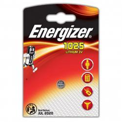 Батарейка литиевая Energizer CR1025 дисковая 3В 1шт