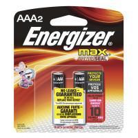Щелочные батарейки Energizer Max AAA 2шт