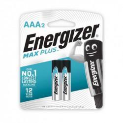 Батарейки алкалиновые Energizer Max Plus AAA LR03 1,5В 2шт