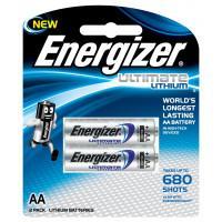 Батарейки литиевые Energizer Ultimate Lithium L91 AA FR6 2шт