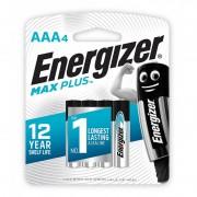 Батарейки алкалиновые Energizer Max Plus AAA LR03 1,5В 4шт