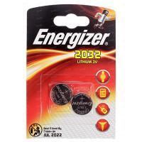 Литиевые батарейки Energizer CR2032 3В 2шт