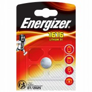 Батарейка литиевая Energizer CR1616 дисковая 3В 1шт