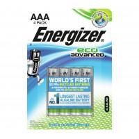 Батарейки алкалиновые Energizer Eco Advanced AAA LR03 1,5В 4шт
