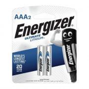 Батарейки литиевые Energizer Ultimate Lithium L92 AAA FR03 1.5В 1350мАч 2шт