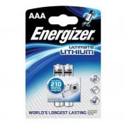 Батарейки литиевые Energizer Ultimate Lithium L92 AAA FR03 1,5В 2шт