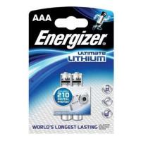 Литиевые батарейки Energizer Ultimate Lithium AAA 2шт