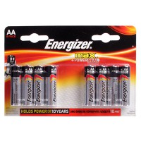 Щелочные батарейки Energizer Max AA 8шт