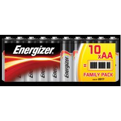Батарейки алкалиновые Energizer Alkaline Power AA LR6 1,5В 10шт