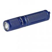 Ручной карманный маленький фонарь Fenix E05 (2014 Edition) светодиодный Cree XP-E2 R3 LED синий IPX8