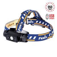Налобный фонарь Fenix HL60R светодиодный Cree XM-L2 U2 Neutral White LED черный