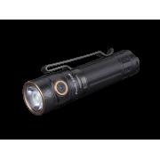 Ручной карманный маленький фонарь Fenix E30R светодиодный Cree XP-L HI LED черный IP68