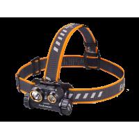 Налобный фонарь Fenix HM65R Raptor светодиоды Cree XM-L2 U2 и XP-G2 R5 черный корпус