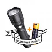 Ручной карманный фонарь для охоты и рыбалки Fenix FD41 светодиодный Cree XP-L HI LED IP68 + аккумулятор