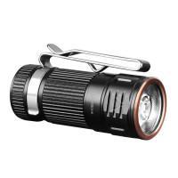 Маленький брелок-фонарик на ключи Fenix E16 светодиодный Cree XP-L HI аккумуляторный IP68