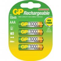 Аккумулятор Ni-MH GP Rechargeable AAA 1000мАч 1,2В 2шт