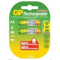 Аккумуляторы металлогидридные Ni-MH GP 270AAHC-BL2 Rechargeable AA 2700мАч 1,2В 2шт