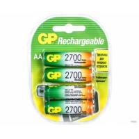 Аккумулятор Ni-MH GP Rechargeable AA 2700мАч 1,2В 2шт