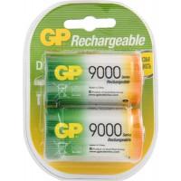 Аккумулятор Ni-MH GP Rechargeable D 7000мАч 1,2В 2шт