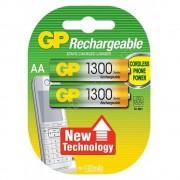 Аккумулятор Ni-MH GP Rechargeable AA HR6 1300 мАч 1,2В 2шт