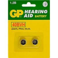 Аккумулятор Ni-MH GP 40BVH-CR2 PR44 40мАч 1,2В дисковый 2шт