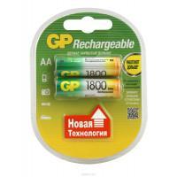Аккумуляторы металлогидридные Ni-MH GP 180AAHC-UC2 Rechargeable AA 1800мАч 1,2В 2шт