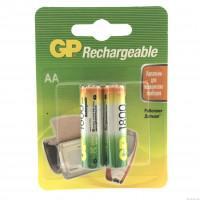 Аккумуляторы металлогидридные Ni-MH GP 180AAHC Rechargeable AA 1800мАч 1,2В 2шт