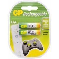 Аккумулятор Ni-MH GP Rechargeable AAA 850мАч 1,2В 2шт