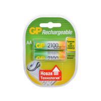 Аккумуляторы металлогидридные Ni-MH GP 210AAHC-U2 Rechargeable AA 2100мАч 1,2В 2шт