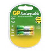 Аккумуляторы металлогидридные Ni-MH GP 95AAAHC-2CR2 Rechargeable AAA 950мАч 1,2В 2шт